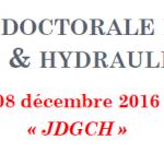 Journée doctorale en génie civil & hydraulique
