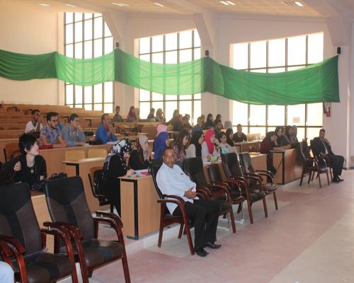 يوم دراسي  حول الجريمة الالكترونية بكلية الحقوق والعلوم سياسية