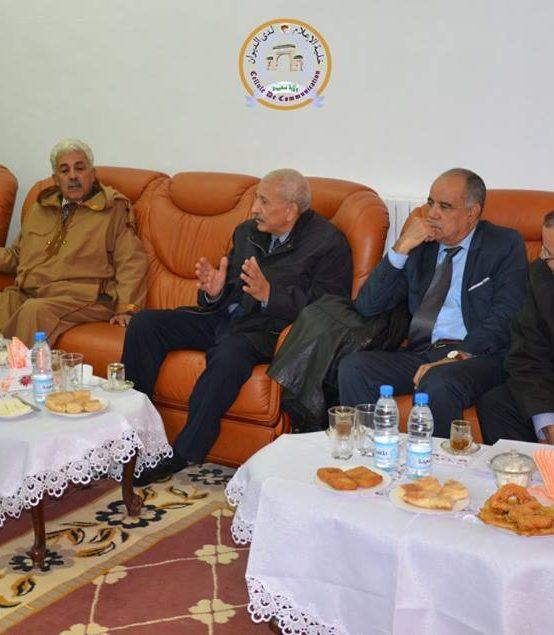 زيارة القنصل الفرنسي للغرب الجزائري  
