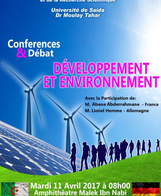 يوم دراسي حول التنمية والبيئة