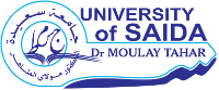 Page d'exemple - Université de Saida Dr. Moulay Tahar