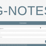 Application G-Notes