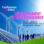 Conférence-débat sur le developpement et environnement