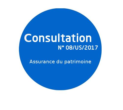 Avis de consultation N° 08/US/2017