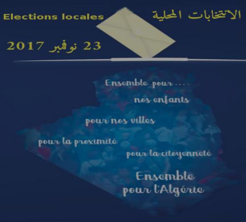 Elections locales du 23 novembre 2017