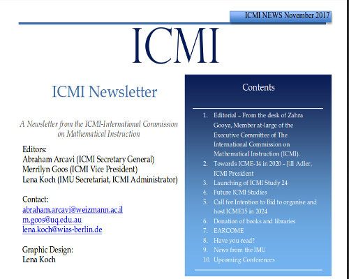 ICMI NEWS November 2017