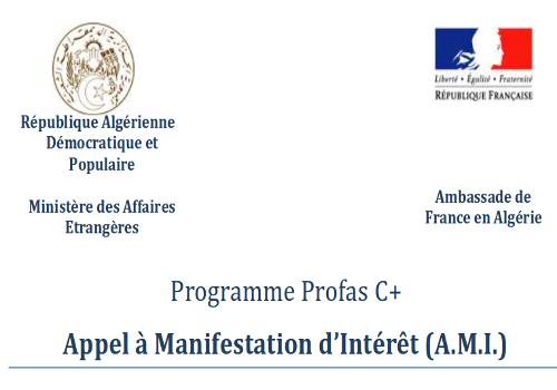 Programme Algéro-Français PROFAS C+