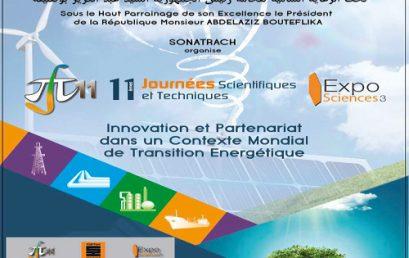 SONATRACH organise 11èmes Journées Scientifiques et Techniques (JST11)