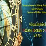 "Colloque international ""Modélisation Stochastique et Statistique"" MSS2019"