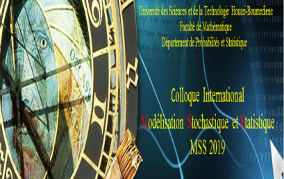Colloque international « Modélisation Stochastique et Statistique » MSS2019