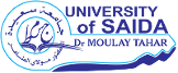 Sciences et Technologies - Université de Saida Dr Moulay Tahar