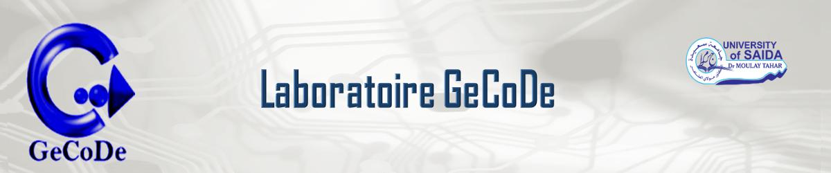 laboratoire GeCoDE