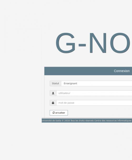 البرنامج الجديد G-NOTES