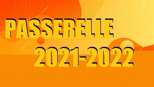 PASSERELLE 2021-2022