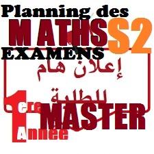 1ere Master MATHS