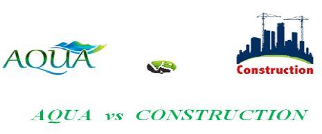 Une journée d'étude intitulée  « AQUA vs CONSTRUCTION »