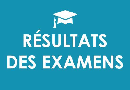 Les notes d'examens et les délibérations ST
