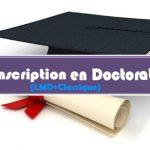 Annonce du Réinscription en Doctorat (Science et LMD)